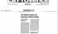 La Provence 20-11-2009